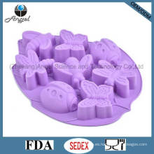 Insectos Molde de chocolate de silicona Ice Cube Tray Cake Tool Sc32