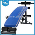 Crescendo gimnasio curvas Sit Up Banco Ab ajustable