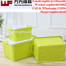 2017 new product injection moulding for polypropylene storage box mould in taizhou