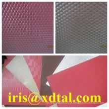 diamante em relevo / estuque / folha de alumínio ondulado material de construção de alumínio