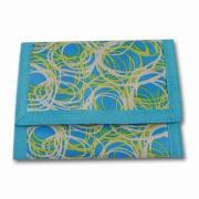Printed 420D Wallet, Measures 13 x 27cm