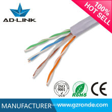 made in china Single strand pure copper conductor high speed 350MHz networking cable cat5e