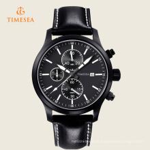Men \ 's Business Casual relógio de quartzo Analógico Cronógrafo relógio de pulso 72222