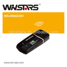 highspeed 150Mbps Mini USB 2.0 Wireless-N adapter,WiFi Protected Setup (WPS) simplifies setup and operation