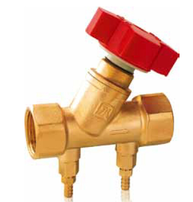 Forged brass manual balancing valves threaded end