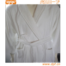 Women′s Patterned Robe with Sherpa Collar