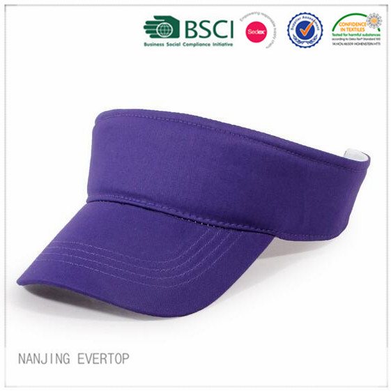 Plain Blank Sandwich Visor With Velcro Closure
