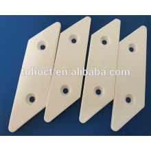 Electric electronic ceramic hot plate tile with holes