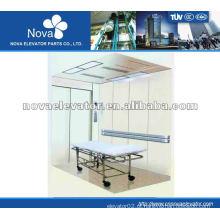 1.0m / s 2000kg Elevador do paciente