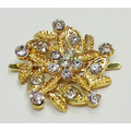 Flower Shapes Bridal Rhinestone Shoe Clips