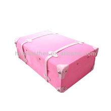 Холст и ПУ экстерьер старинных чемоданов стиль