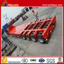 25t-200tons Low Bed Semi Trailer/Semi Lowbed Lowboy Truck Trailer (PLY9502TDP)