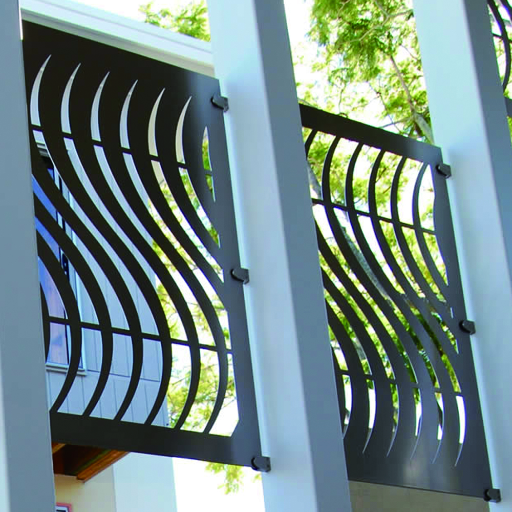 Laser Cut Metal For Balustrades