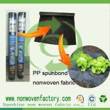 Tissu non-tissé stable UV de pp Ss pour le contrôle de Weed