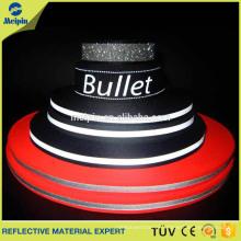 Colorful Safety Customized Elastic Reflective Tape Ribbon/ Nylon Webbing