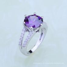 anillos de dedo del diseño del pavo real de la joyería dubai del fabricante del primero ministro