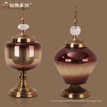 high quality new custom household adornment 2016 hot sell glass arts and crafts