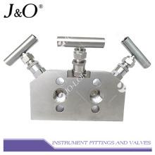 Instrument Stainless Steel 3 Valve Manifold