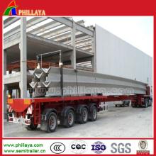 Multi Axles Heavy Duty ausziehbarer Anhänger