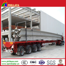 Multi Axles Heavy Duty Extendable Trailer