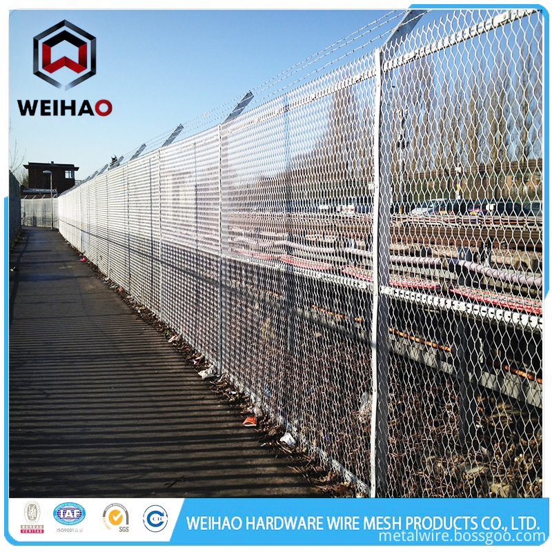 expanded wire metal mesh
