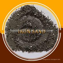 Areia de ferro de alta densidade 6.8-7.2 T / M3 / preço da areia de ferro
