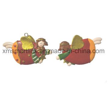 Cadeaux de pendaison de Figurine d'ange de résine