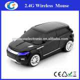 best selling novelties giveaways wireless car design pc mouse