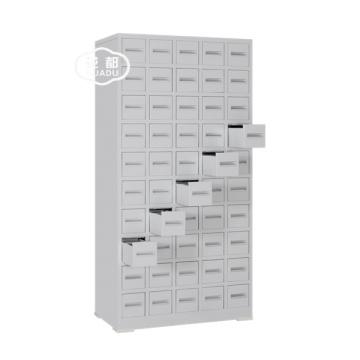 Armário de medicina médico chinês de pequenas gavetas de aço