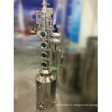 Distiller à l'alcool en acier inoxydable