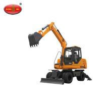 Road Machinery Hydraulic 7 Tonne Wheel Excavator