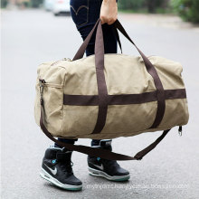 Waterproof canvas folding sport bag high quality sport foldable travel bag wholesale