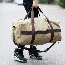 Waterproof canvas folding sport bag high quality sport foldable travel bag wholesale