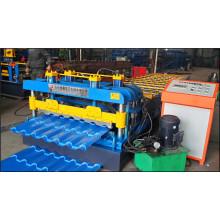 Dongchang hergestellte Eisenblech-Wellwalzmaschine