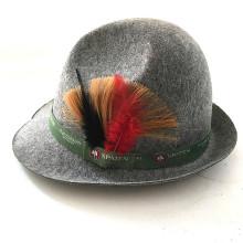 Chapeaux Bonnets en laine de feutre à la fourrure