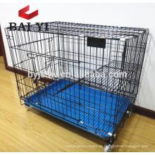 Heißer Verkaufs-neuer Entwurfs-Haustier-Käfig-Metallklappkatzen-Käfig