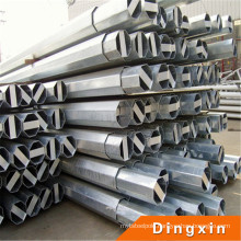 ISO Hot DIP Galvanize Octagonal or Round Steel Street Lamp Pole Lamp 4m Lighting Pole