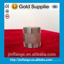 304/316 accesorios de acero inoxidable y accesorios de válvulas pezón de barril