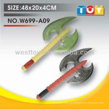 Tpr мягкой и безопасной пены двойной топор оружие для детей