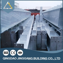Estrutura de aço Hangar industrial pré-fabricado