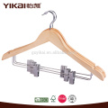 Good quality wooden suit hangers