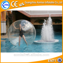 Sticky smash water ball/water roller balls/inflatable water walking ball