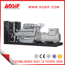 Powered by Perkins Diesel Generators with Brushless Alternator