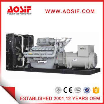 Powered by Perkins Diesel Generators with Brushless Alternator