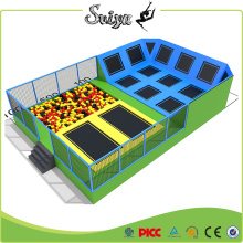 Galvainzed Best Design Indoor Trampoline Park à vendre