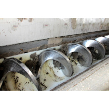 Shaftless Screw Conveyor for Sludge Material