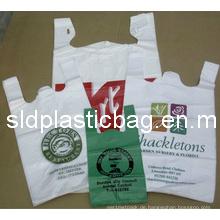 Hochwertige Einkaufen Plastik T-Shirt Tasche