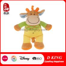 Детские игрушки куклы фаршированные плюшевые корова игрушки с Звук