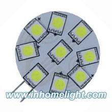 9 SMD Power 5050 G4 LED Licht Side Pin Hellweiß 12V DC