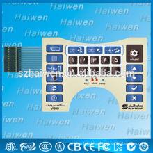 Interruptor de membrana de alta calidad con panel de PET